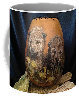 Wolf Pups  #go74 Coffee Mug
