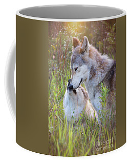 Wolf Soul Mates Coffee Mug