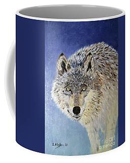 Wolf Study Coffee Mug