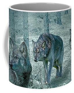 Wolf Trio Coffee Mug