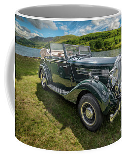 Coffee Mug featuring the photograph Wolseley Classic Car by Adrian Evans