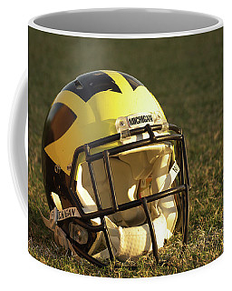 Wolverine Helmet In Morning Sunlight Coffee Mug