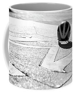 Wolverine Helmet On The Diag M Coffee Mug