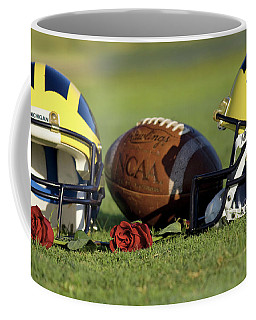 Wolverine Helmets And Roses Coffee Mug