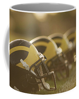 Wolverine Helmets Sparkling In Dawn Sunlight Coffee Mug