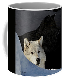 Wolves, Real And Surreal Coffee Mug