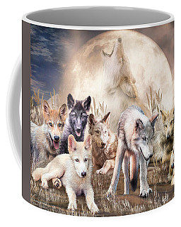 Wolves - Young And Wild Coffee Mug