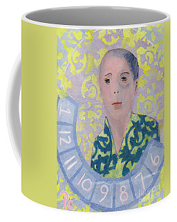 Coffee Mug featuring the mixed media Woman #331717 by Patricia Cleasby