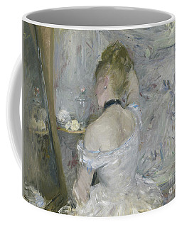 Woman At Her Toilette Coffee Mug