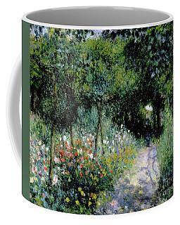 Woman In A Garden Coffee Mug
