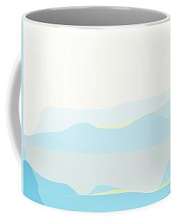 Woman In Blue Coffee Mug