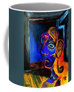 Woman In The Red Dress Coffee Mug