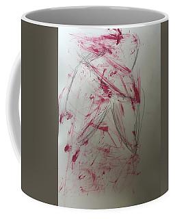 Woman In Wild Grasses Coffee Mug