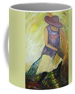 Woman Of Wheat Coffee Mug