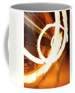 Woman On Fire Coffee Mug