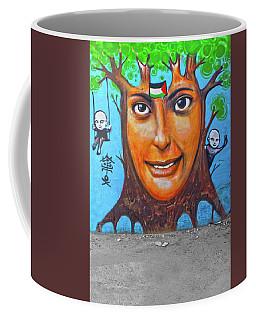 Coffee Mug featuring the photograph Woman Tree by Munir Alawi