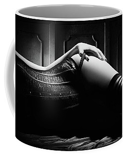 Woman With Black Corset Coffee Mug
