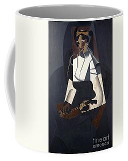 Woman With Mandolin Coffee Mug