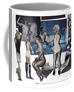 Women At The Movies Coffee Mug