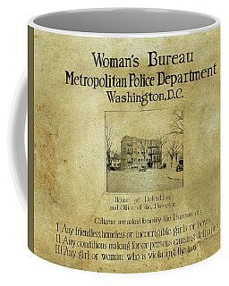 Women's Bureau House Of Detention Poster 1921 Coffee Mug