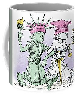 Women's March On Washington Coffee Mug