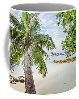 Coffee Mug featuring the photograph Wonderful View by Hannes Cmarits