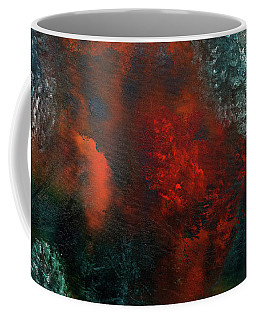 Coffee Mug featuring the painting Wonderland by Carmen Guedez