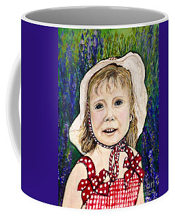 Won't You Be My Valentine? Cropped Coffee Mug by Kimberlee Baxter