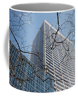 Coffee Mug featuring the photograph Wood And Glass by Rob Hans