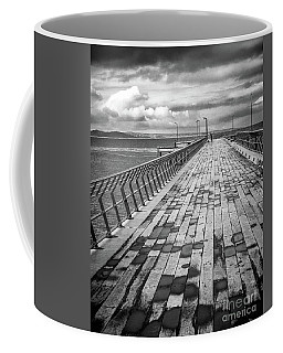 Wood And Pier Coffee Mug by Perry Webster