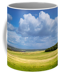 Wood Copse On A Hill Coffee Mug
