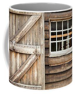 Wood Door And Window Coffee Mug