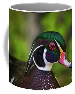 Wood Duck Portrait Coffee Mug
