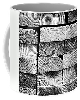 Wood Ends. #abstract #pattern Coffee Mug