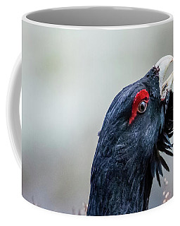 Wood Grouse Portrait Coffee Mug