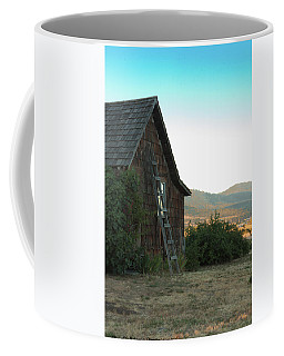 Wood House Coffee Mug