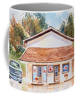 Coffee Mug featuring the painting Woodcock Insurance In Watercolor  W406 by Kip DeVore