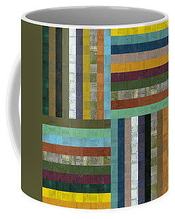 Wooden Abstract V  Coffee Mug