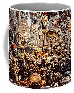 Wooden African Carvings Coffee Mug