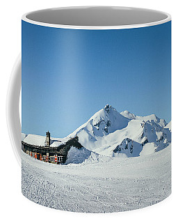 Wooden Alpine Cabin  Coffee Mug