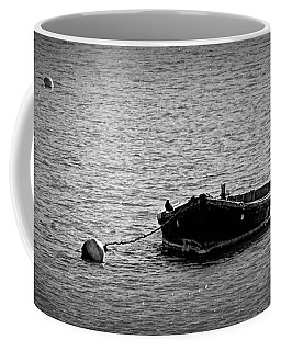 Wooden Boat Coffee Mug