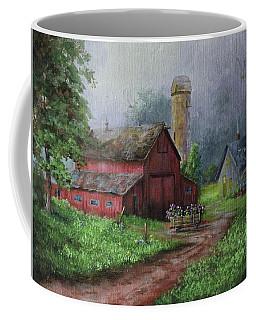 Wooden Cart Coffee Mug