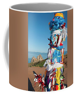 Wooden Shaman Totems  Coffee Mug