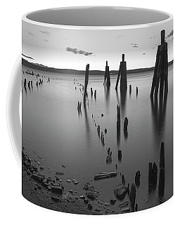 Wooden Soldiers Of The Hudson Monochrome Coffee Mug