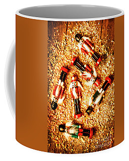 Wooden Toy Soldiers Coffee Mug