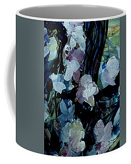 Coffee Mug featuring the painting Woodland Flowers by Nancy Kane Chapman