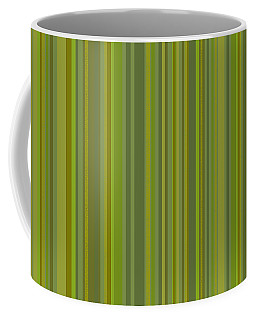 Woodland Moss - Stripes - Green Coffee Mug
