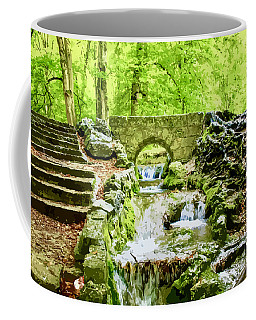 Woodland Steps And Stream Coffee Mug