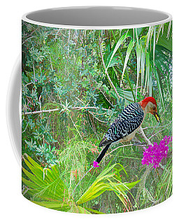 Woodpecker In Paradise Coffee Mug