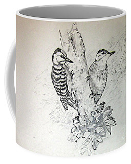 Woodpecker Coffee Mug
